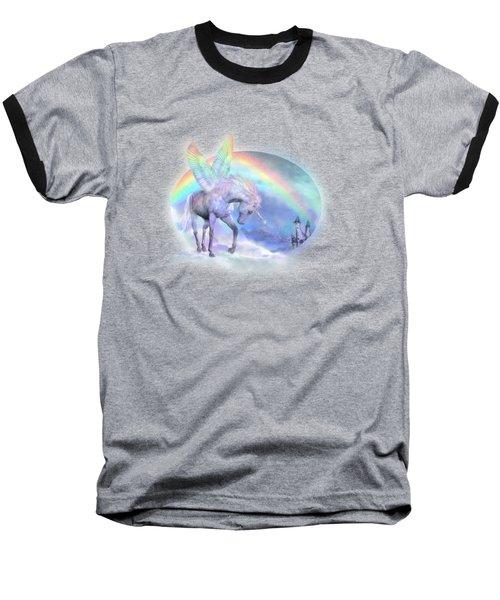 Unicorn Of The Rainbow Baseball T-Shirt