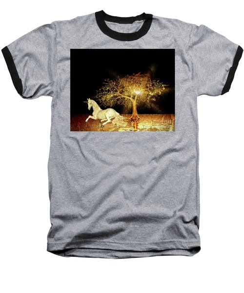 Unicorn Resting Series 1 Baseball T-Shirt
