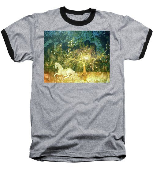 Unicorn Resting Series 3 Baseball T-Shirt
