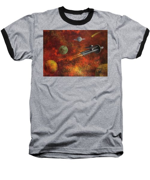 Unidentified Flying Object Baseball T-Shirt