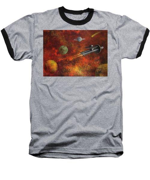 Unidentified Flying Object Baseball T-Shirt