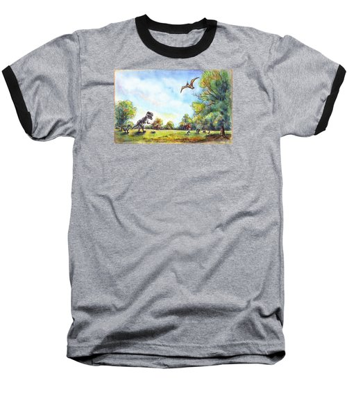 Uninvited Picnic Guests Baseball T-Shirt