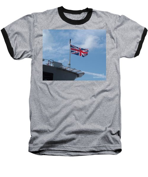 Union Jack Baseball T-Shirt