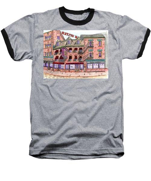 Union Osyter House Boston Baseball T-Shirt by Paul Meinerth