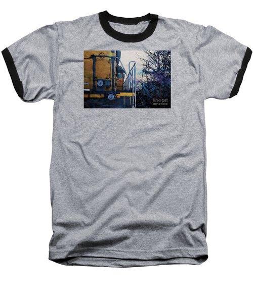 Union Pacific 1474 Baseball T-Shirt by David Blank