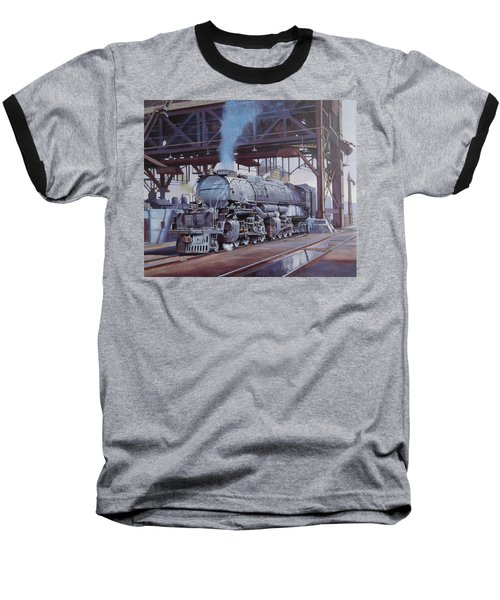 Union Pacific Big Boy Baseball T-Shirt by Mike  Jeffries