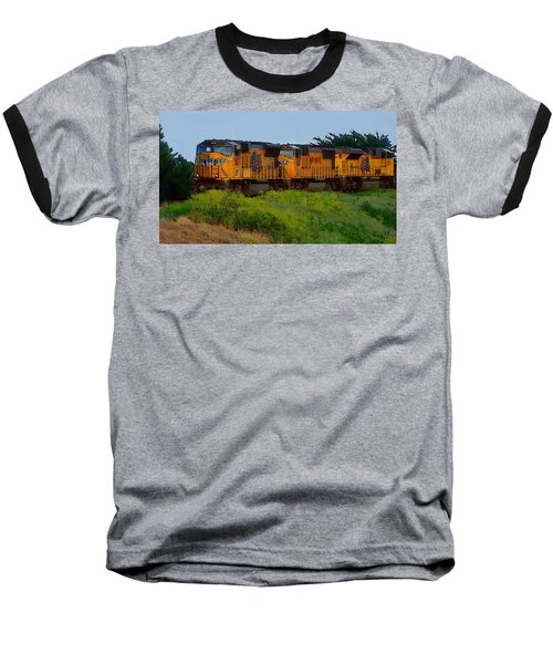 Union Pacific Line Baseball T-Shirt