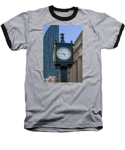 Union Station - Toronto Baseball T-Shirt by John Black