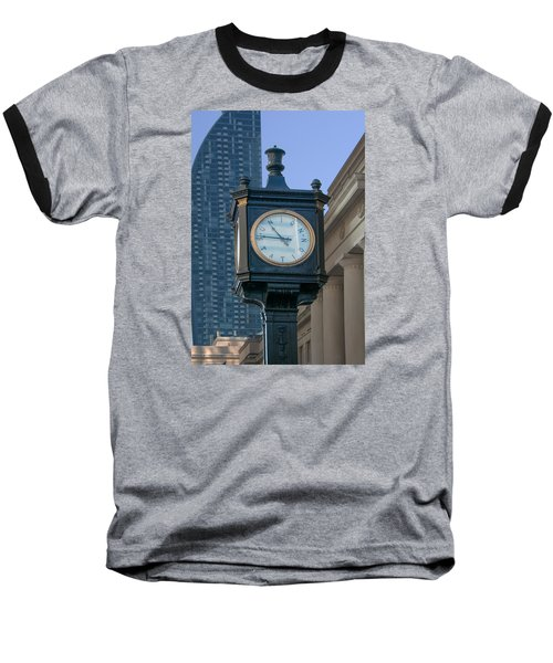Union Station - Toronto Baseball T-Shirt
