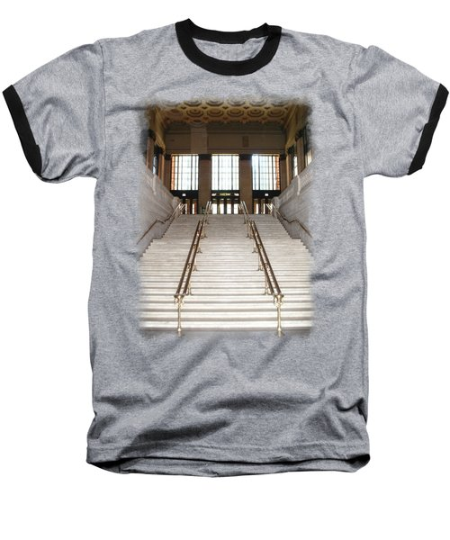 Union Street Station Baseball T-Shirt