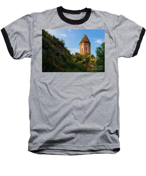 Unique Kirants Monastery On A Sunny Day, Armenia Baseball T-Shirt by Gurgen Bakhshetsyan
