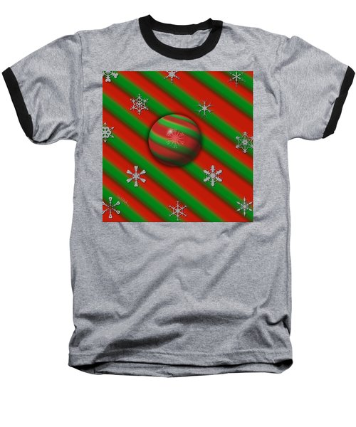 Unique Snowflakes Baseball T-Shirt