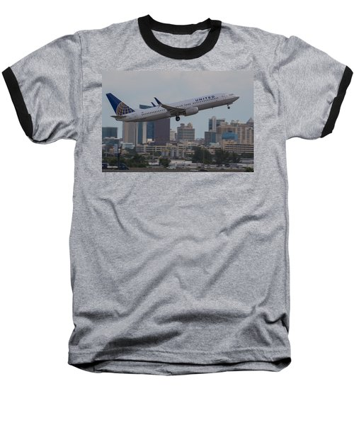 United Airlinea Baseball T-Shirt