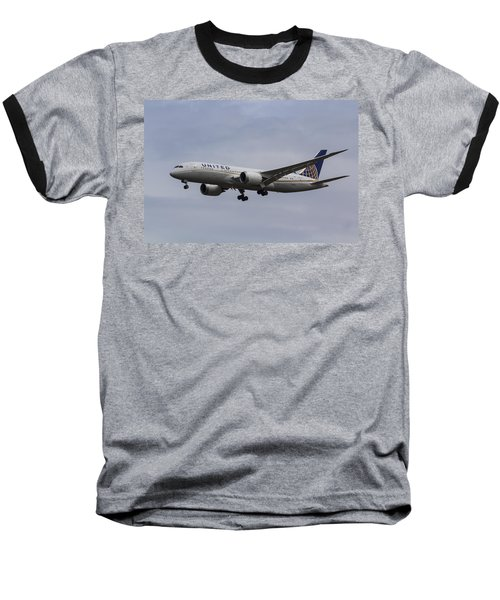United Airlines Boeing 787 Baseball T-Shirt
