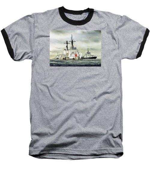 United States Coast Guard Boutwell Baseball T-Shirt