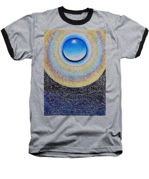 Universal Eye In Blue Baseball T-Shirt