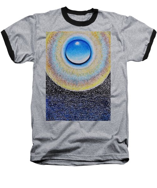 Universal Eye In Blue Baseball T-Shirt