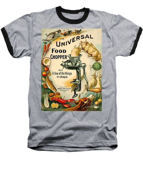 Universal Food Chopper 1897 Baseball T-Shirt by Padre Art