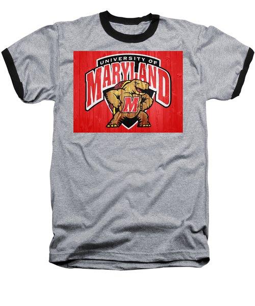 University Of Maryland Barn Door Baseball T-Shirt