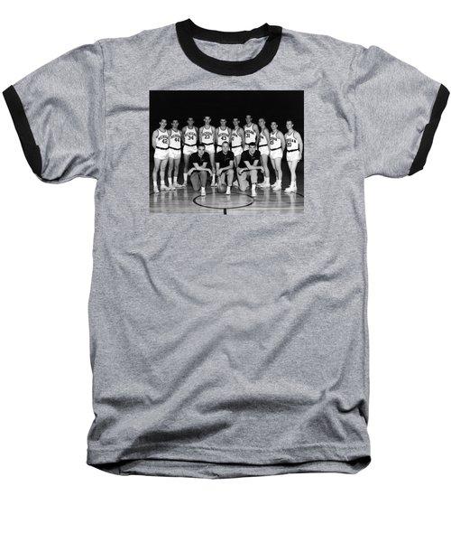 University Of Michigan Basketball Team 1960-61 Baseball T-Shirt