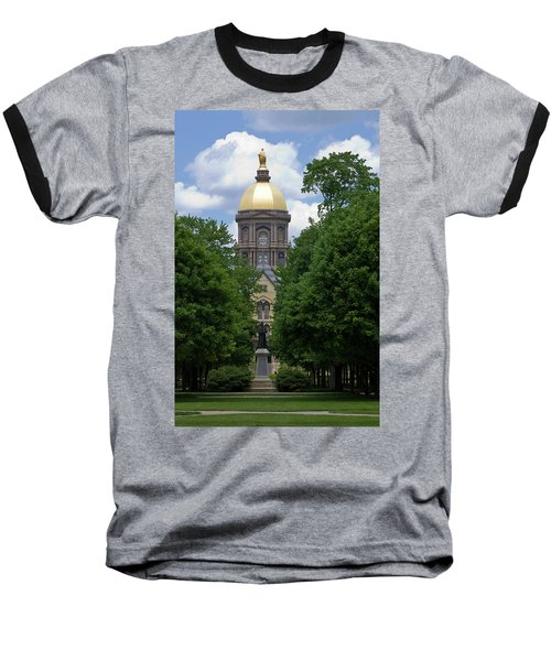 University Of Notre Dame Golden Dome Baseball T-Shirt