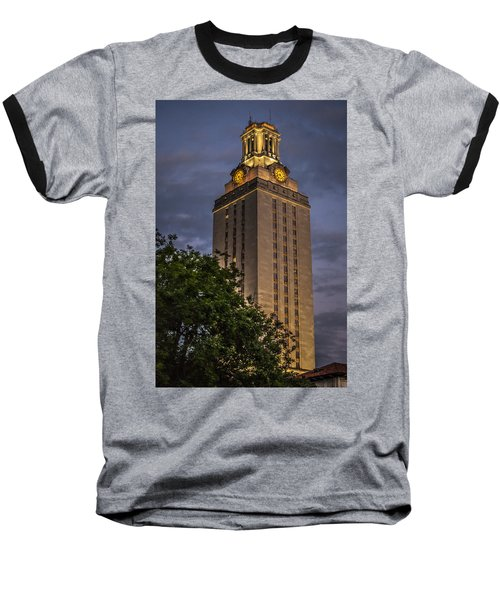 University Of Texas Tower Baseball T-Shirt