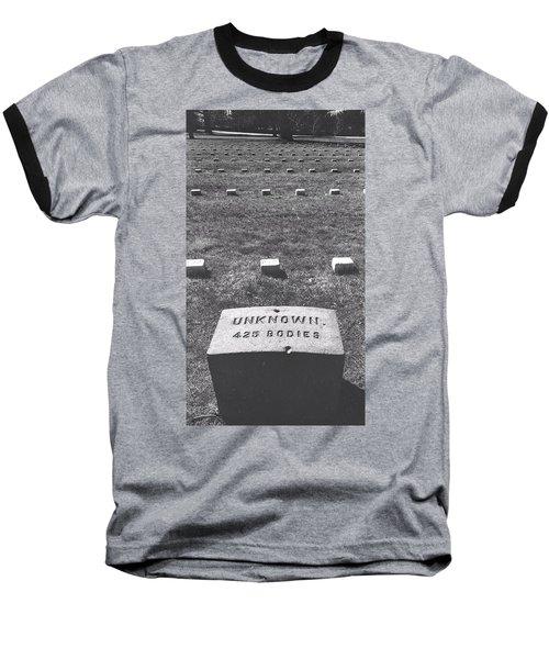 Unknown Bodies Baseball T-Shirt