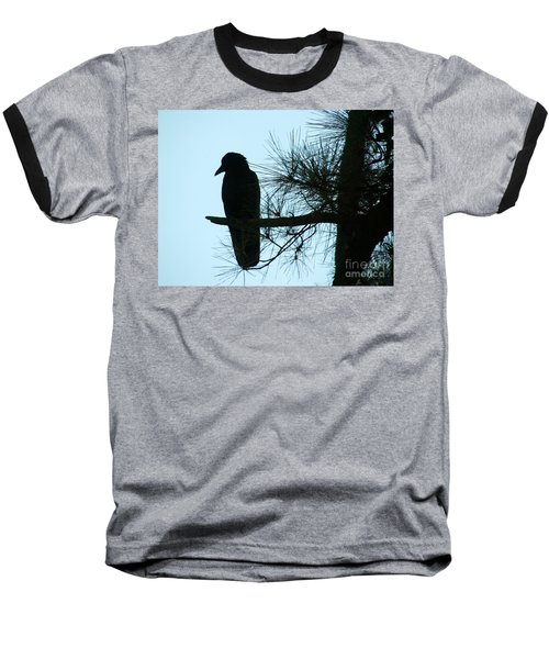 Unknown Visitor Baseball T-Shirt
