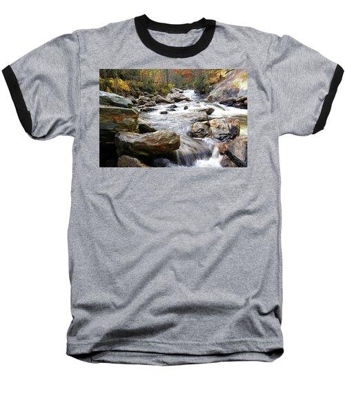 Unnamed Waterfall Baseball T-Shirt