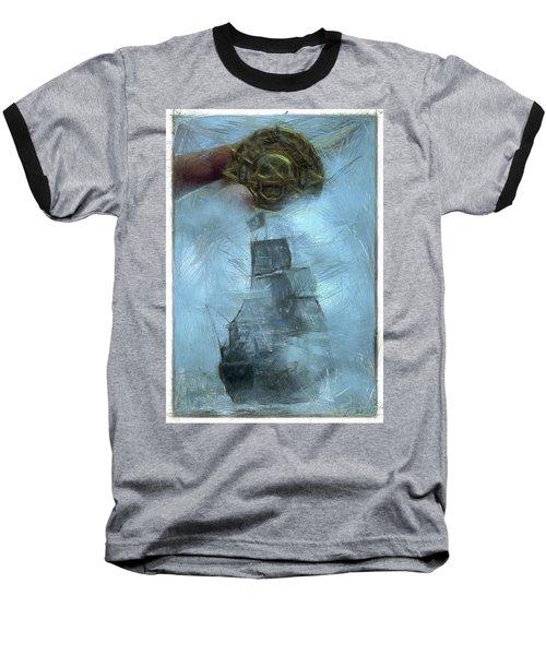 Unnatural Fog Baseball T-Shirt by Benjamin Dean