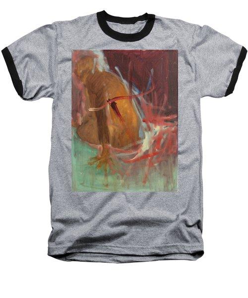 Unquiet Baseball T-Shirt by Daun Soden-Greene