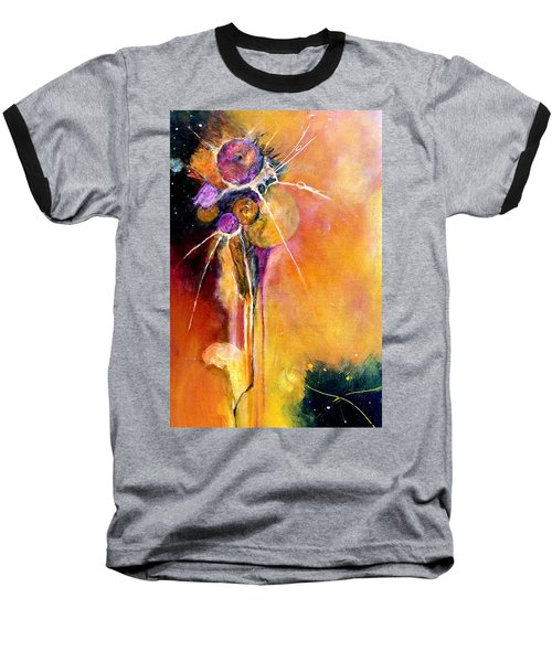 Baseball T-Shirt featuring the painting Unrequited Love by Jim Whalen