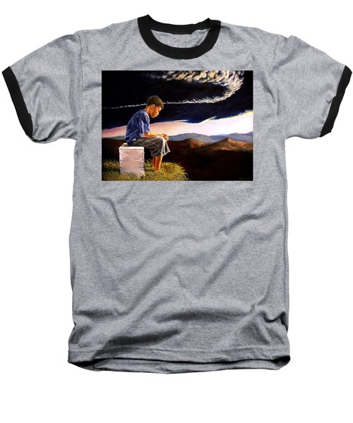 Unscarred Mountain Baseball T-Shirt