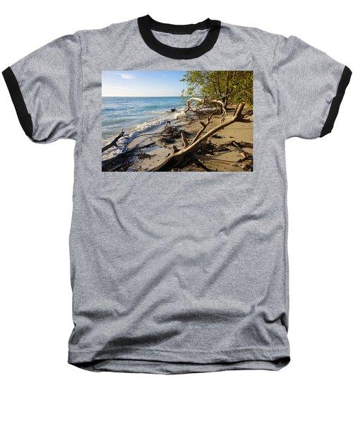 The Unspoiled Beaty Of Barefoot Beach Preserve In Naples, Fl Baseball T-Shirt