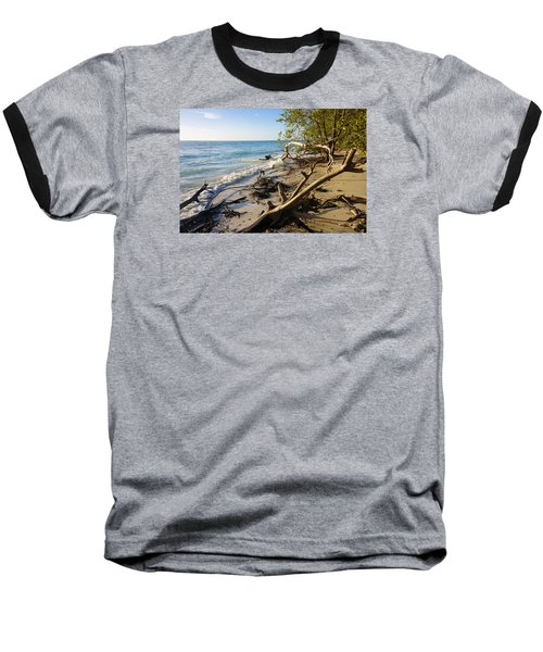 The Unspoiled Beaty Of Barefoot Beach Preserve In Naples, Fl Baseball T-Shirt