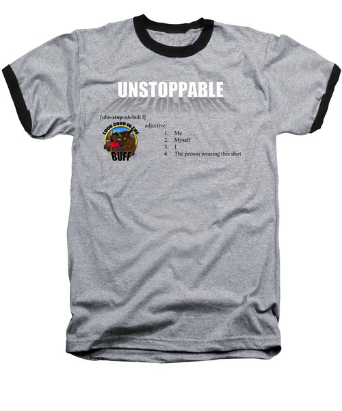 Unstoppable V1 Baseball T-Shirt