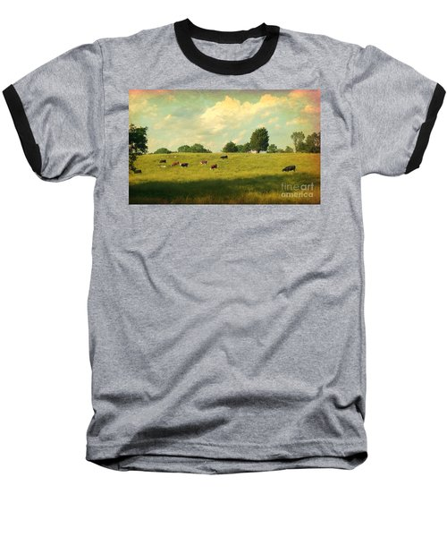 Until The Cows Come Home Baseball T-Shirt