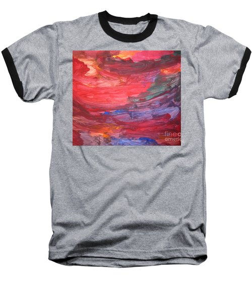 untitled 110 Original Painting Baseball T-Shirt