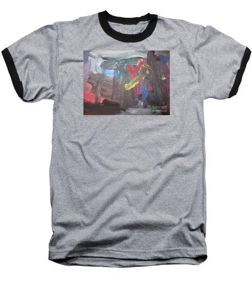 Untitled 128 Original Painting Baseball T-Shirt