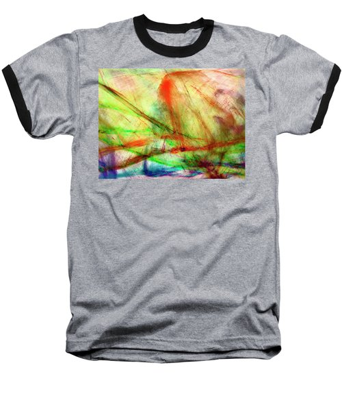 Untitled #140922, From The Soul Searching Series Baseball T-Shirt