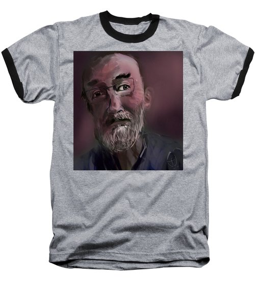 Baseball T-Shirt featuring the painting Untitled - 26nov2016 by Jim Vance