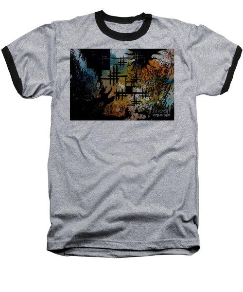 Cross Line Baseball T-Shirt