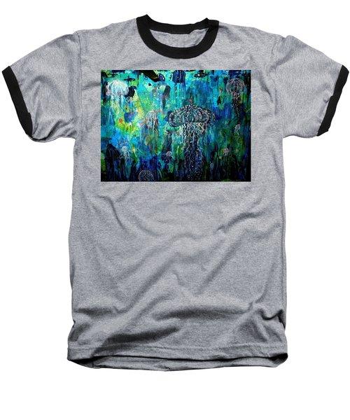 Ocean Deep Baseball T-Shirt