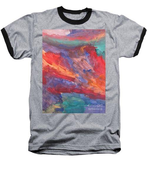 Untitled 95 Original Painting Baseball T-Shirt
