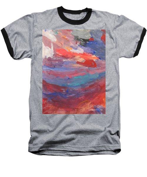 Untitled 96 Original Painting Baseball T-Shirt