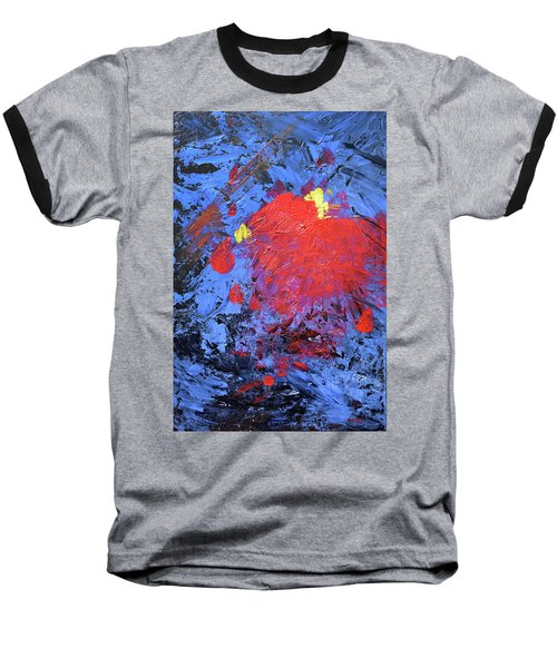 Untitled Abstract-7-817 Baseball T-Shirt