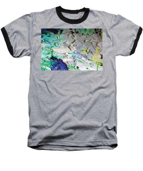 Untitled Abstract With Droplet ## Baseball T-Shirt