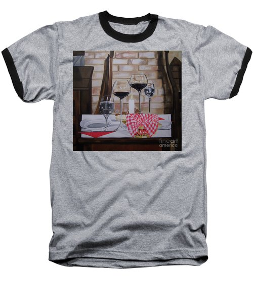 Untitled Baseball T-Shirt by Chelle Brantley