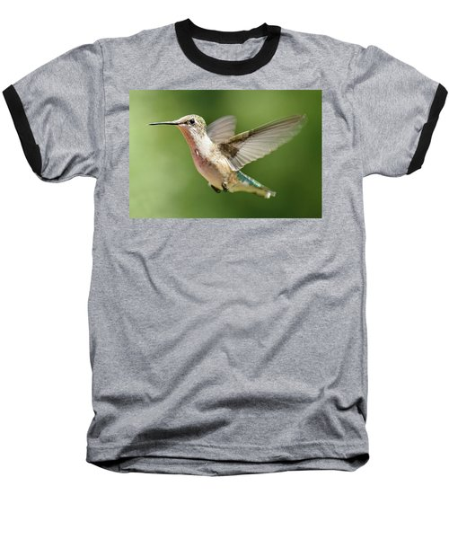 Untitled Hum_bird_two Baseball T-Shirt
