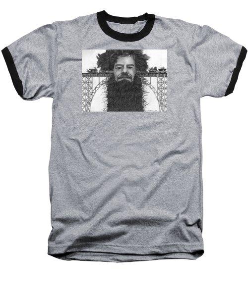 Train Of Thoughts Baseball T-Shirt